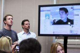 Facebook added Skype video calling in the face of a direct challenge from powerhouse rival Google