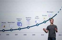 """Facebook's """"Timeline"""" design was unveiled at a Facebook developers conference in September"""