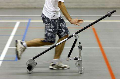 A bicycle built for none: Riderless bike helps researchers learn how balance rolls along