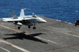 Flight control software to help pilots stick landings aboard carrier decks