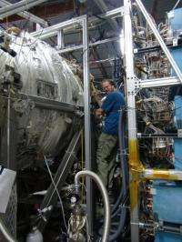General Fusion founder and Chief Technology Officer Michel Laberge at the General Fusion laboratory in Burnaby