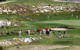 Golf courses that reuse water irrigate too much