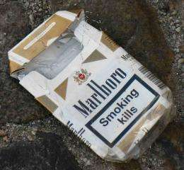 Graphic warning labels reduce demand for cigarettes