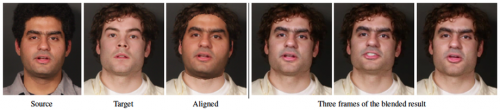 Harvard group takes complexity out of video face replacement