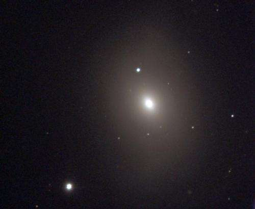 Is M85 missing a black hole?