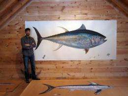 James Prosek, a naturalist, author and artist, is seen in his New Haven, Connecticut studio