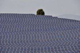 Japanese trading house Mitsui plans to build large-scale solar power plants in the tsunami-hit northeast