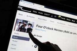 Justin Timberlake part of group buying MySpace (AP)
