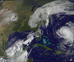 Lee's remnants continue to drench the Eastern US