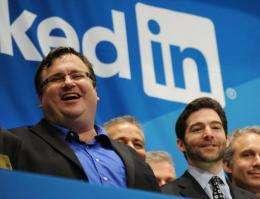 Linkedin founder Reid Garrett Hoffman