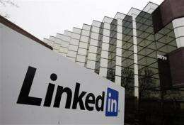 LinkedIn looking for $32 to $35 per share in IPO (AP)
