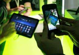 More than 500,000 devices running Google's Android software are being activated every day