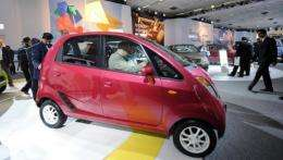 Nano sales in India have fallen far short of the hopes