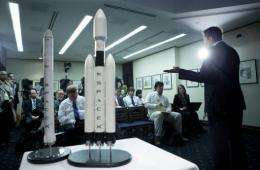 NASA awarded nearly 270 million dollars in spaceship contracts to four companies, including Boeing and SpaceX.