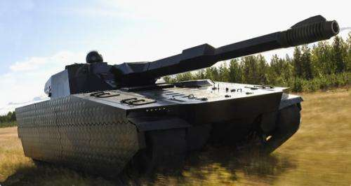 New camouflage technology from BAE hides war machines