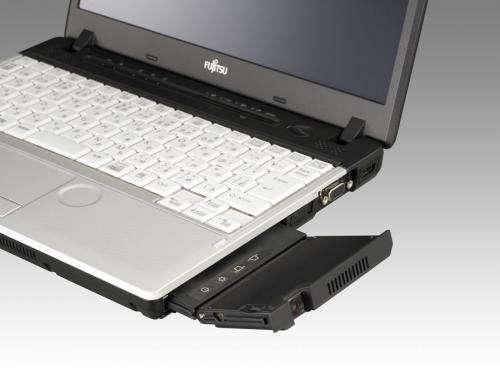 New Fujitsu Lifebooks: no optical drive but a projector instead