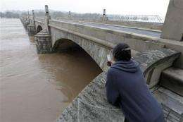 On ancient Susquehanna, flooding's a frequent fact (AP)
