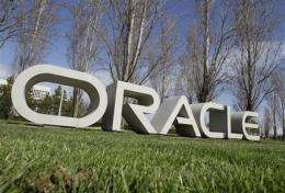 Oracle fiscal 3Q net income up 78 pct (AP)