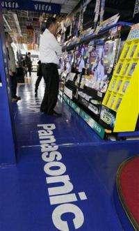 Panasonic posts loss, forecasts full year red ink (AP)