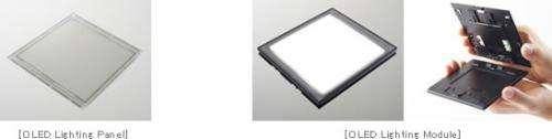 Panasonic turns on OLED lighting roadmap, announces record efficiency