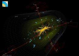 Particle physicists report 'intriguing hints' of Higgs Boson