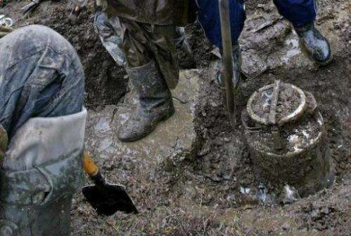 Permafrost or soil that is permanently frozen, covers about 63% of Russia
