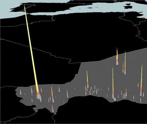Princeton study: Nighttime images help track disease from the sky