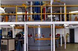 Proton dripping tests a fundamental force in nature