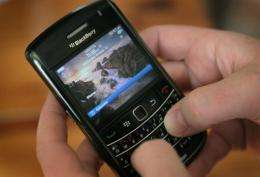 RIM has sold 165 million BlackBerry smartphones