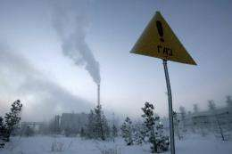 Russia is seeking rights to look for gas in an extra million square km of Arctic territory