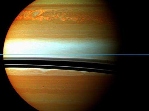 Saturn's Northern Storm
