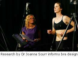 Scientists help develop new sports bra fitting service