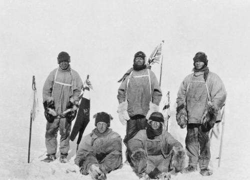 Scott's body, and those of his two team members, were found in their tent, buried under the snow, in November 1912.