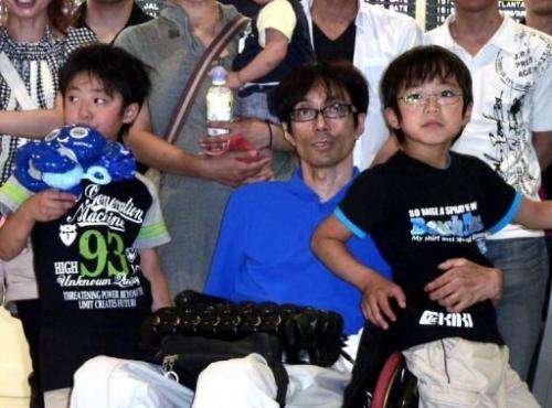 Seiji Uchida was paralysed after he was injured in a car accident in 1983
