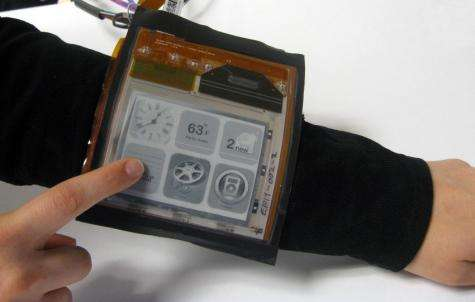 Revolutionary new paper computer shows flexible future for smartphones, tablets (w/ video)