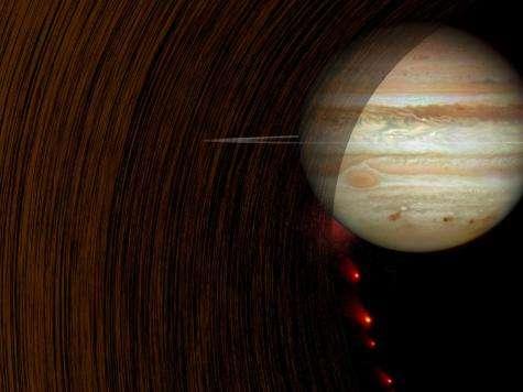 Spacecraft reveal mysteries of Jupiter and Saturn rings