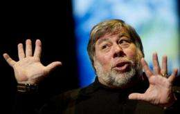 Steve Wozniak expressed his fondness for fellow Apple co-founder Steve Jobs by camping out overnight for the iPhone 4S