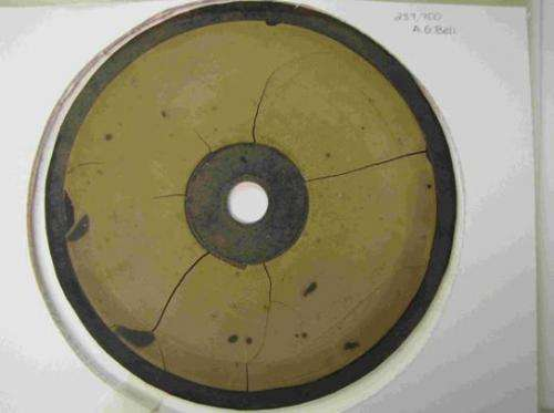 Team uses high-tech optical technique to pull sound from 125 year old recordings