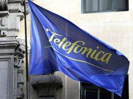 Telefonica employs some 30,000 people in Spain