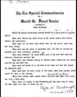 Ten special commandments for planet hunters