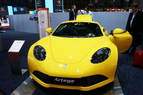 The Artega SE enters the electric sports car arena