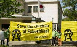 The Dutch-based group lashed Tokyo after a probe by one of its nuclear experts