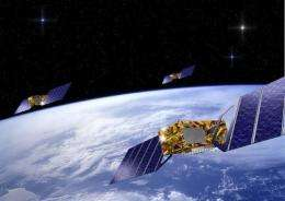 The Galileo navigation system is due to go online in 2014