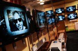 The number of US homes owning television sets is falling for the first time in two decades