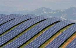 The park has a production capacity of 90 megawatts