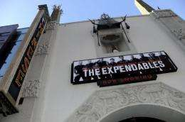 """The Premiere Of Lionsgate Films' """"The Expendables"""" at the Grauman's Chinese Theatre in Hollywood"""