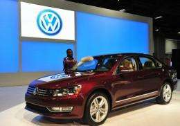 The Volkswagen Passat TDI clean diesel car