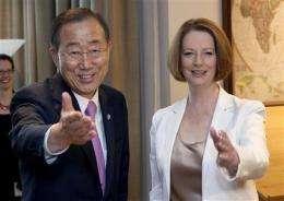 UN chief calls for urgent action on climate change (AP)