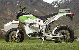 Undergrads' hybrid motorcycle shows range