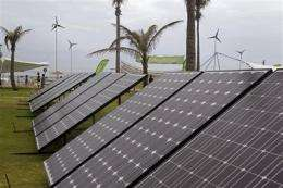 UN scientist: fighting climate change saves costs (AP)